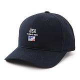 앱놀머씽 - USA Ball Cap (Navy) 볼캡 야구모자