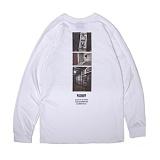 앱놀머씽 - Pushoff Long Sleeve (White) 롱슬리브 긴팔티셔츠