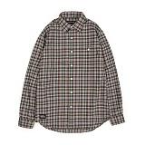 앱놀머씽 - Woolen Check Shirt (Green) 체크셔츠