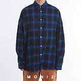 [모니즈] 글린 오버 체크 셔츠 (3color) SHT669 긴팔남방