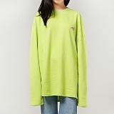 [프로젝트624]PROJECT624 [UNISEX] 위드미 오버핏 롱 슬리브 티셔츠 (lime) 긴팔티