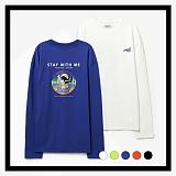 [프로젝트624]PROJECT624 [UNISEX] 위드미 오버핏 롱 슬리브 티셔츠 (5COLOR) 긴팔티
