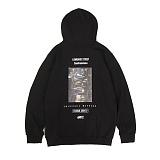 앱놀머씽 - Lombard Hood (Black) 후드티셔츠