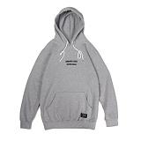 앱놀머씽 - Lombard Hood (Gray) 후드티셔츠