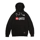 앱놀머씽 - Symbolic Hood (Black) 후드티셔츠