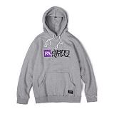 앱놀머씽 - Symbolic Hood (Gray) 후드티셔츠