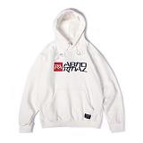앱놀머씽 - Symbolic Hood (White) 후드티셔츠