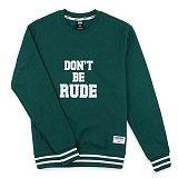 [핍스] PEEPS dont be rude crewneck(green)_핍스 맨투맨