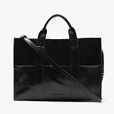[피스메이커]PIECE MAKER - LEATHER 3WAY POCKET BAG (BLACK)