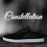 [라카이] 별자리커스텀 블랙_레드 스웨이드 A111A5C1 스니커즈 보드화 운동화