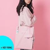 [르마인]Lemine - LE26COZYBAG-코지백(핑크) 레더 가죽 토트백 숄더백