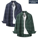 [해리슨] 스탠다드 체크 셔츠 MET1557 남방