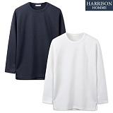 [해리슨] 무지 골지 티셔츠 NTC1268