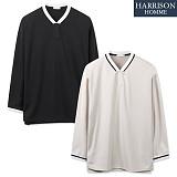 [해리슨] 요꼬 브이넥 티셔츠 NTC1263