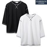 [해리슨] 엠보 가에루빠 9부 티셔츠 LCS1012
