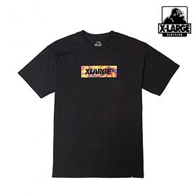 [엑스라지]XLARGE - BONKERS BOX SS TEE (BLACK) 박스로고 반팔티 티셔츠