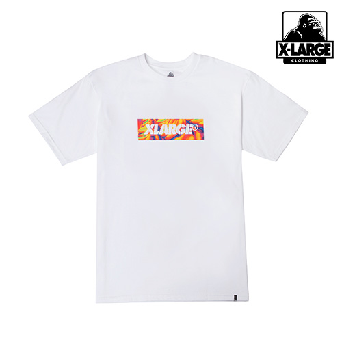 [엑스라지]XLARGE - BONKERS BOX SS TEE (WHITE) 박스로고 반팔티 티셔츠