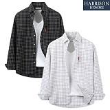 [해리슨] 사각 셔츠 DON1304 남방