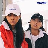 [로얄라이프] ROYALLIFE RLBC100 로얄라이프 로고 볼캡 - 4종