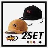 [프로젝트624]PROJECT624 (UNISEX) 1+1 624로고 코튼 워싱 볼캡(5COLOR) 야구모자