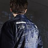 [스페이스에이지]SPACE AGE - 로켓티어 코치 자켓 (네이비)