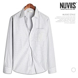 뉴비스 - 잔체크 포켓 드레스셔츠 (SL003SH)