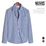 뉴비스 - 체크 포켓 드레스셔츠 (SL002SH)