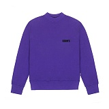 [참스]CHARMS BASIC SMALL LOGO SWEATSHIRT PURPLE 맨투맨 크루넥 스��셔츠