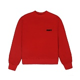 [참스]CHARMS BASIC SMALL LOGO SWEATSHIRT RED 맨투맨 크루넥 스��셔츠