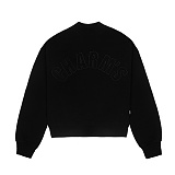 [참스]CHARMS HALF HIGH NECK SWEATSHIRT BLACK 맨투맨 크루넥 스��셔츠