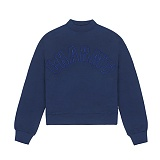 [참스]CHARMS HALF HIGH NECK SWEATSHIRT NAVY 맨투맨 크루넥 스��셔츠