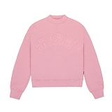 [참스]CHARMS HALF HIGH NECK SWEATSHIRT PINK 맨투맨 크루넥 스��셔츠