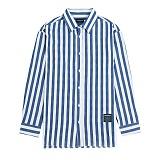 [새븐틴스] PASTEL STRIPE SHIRTS BLUE 스트라이프 셔츠 블루