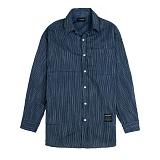 [새븐틴스] TENSION STRIPE SHIRTS BLACK 텐션 셔츠 블랙