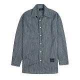 [새븐틴스] TENSION STRIPE SHIRTS GRAY 텐션 셔츠 그레이