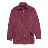 [새븐틴스] TENSION STRIPE SHIRTS WINE 텐션 셔츠 와인