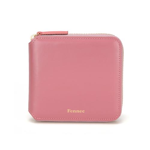[페넥]Fennec Zipper Wallet 027 Rose Pink 지퍼지갑
