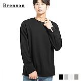 브렌슨 - 루즈핏 소매트임 더블코튼 티셔츠 4컬러