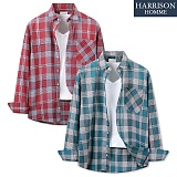 [해리슨] 타니 체크 셔츠 MET1583 남방