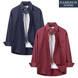 [해리슨] 스타 체크 셔츠 DON1291 남방