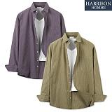 [해리슨] GD 박스 체크 셔츠 MET1580 남방