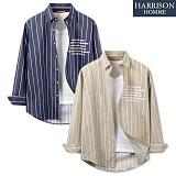 [해리슨] 박스 ST 긴팔 셔츠 MET1570 남방