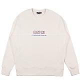 [디플로우]PIPING LINE SWEAT SHIRTS(IVORY) 맨투맨 티셔츠