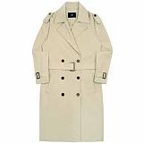 [아파트먼트]APT Trench Coat - Beige 트렌치 코트