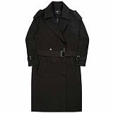 [아파트먼트]APT Trench Coat - Black 트렌치 코트