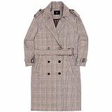 [아파트먼트]Serendipity Trench Coat - Brown 트렌치 코트