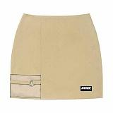 [아파트먼트]Basic Ring Skirt - Beige 스커트 치마