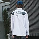 [FROMATOB]프롬에이투비 백 아이즈 옥스퍼드 셔츠 - TOB17ZLS506GY 남방