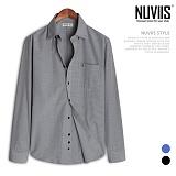 뉴비스 - 잔체크 드레스 셔츠 (BC004SH)