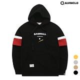 [앨빈클로] AVH-160 베이스볼 후드 티셔츠
